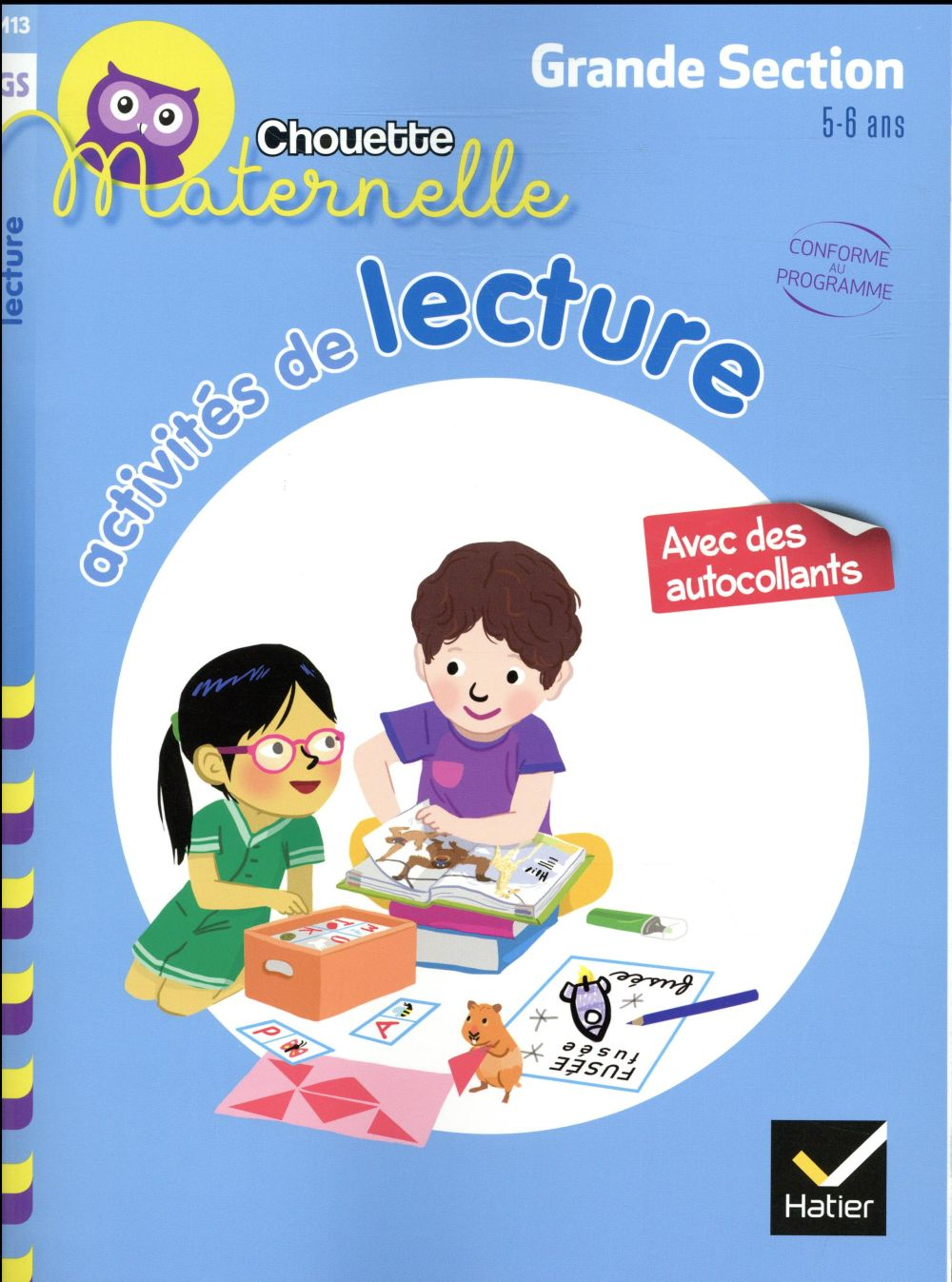 ACTIVITES DE LECTURE GRANDE SECTION